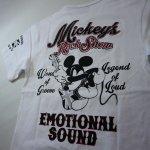 画像3: LOWBLOW KNUCKLE × Mickey Mouse コラボTシャツ [ ROCK SHOW ] (3)
