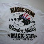画像3: LOWBLOW KNUCKLE × Mickey Mouse コラボTシャツ [ MAGIC STAR ] (3)