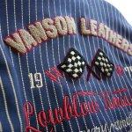 画像8: LOWBLOW KNUCKLE × VANSON コラボ レーシング トラックジャケット (8)
