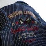 画像7: LOWBLOW KNUCKLE × VANSON コラボ レーシング トラックジャケット (7)