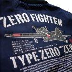 画像3: 粋狂 ナイロン ジャンパー [ ZERO FIGHTER ]  (3)