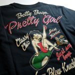 画像7: BETTY BOOP × LOWBLOW KNUCKLE  コラボ  Tシャツ [ バニーベティー ] (7)
