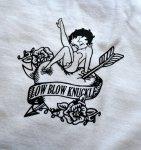 画像11: BETTY BOOP × LOWBLOW KNUCKLE  コラボ  Tシャツ [ バニーベティー ] (11)