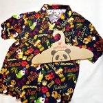 画像11: Pandiesta Japan   [ パイナップルパンダ ] アロハシャツ レーヨンちりめん 529216 (11)