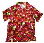 画像5: Pandiesta Japan   [ パイナップルパンダ ] アロハシャツ レーヨンちりめん 529216 (5)