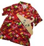 画像7: Pandiesta Japan   [ パイナップルパンダ ] アロハシャツ レーヨンちりめん 529216 (7)