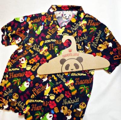 画像2: Pandiesta Japan   [ パイナップルパンダ ] アロハシャツ レーヨンちりめん 529216
