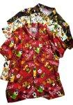 画像1: Pandiesta Japan   [ パイナップルパンダ ] アロハシャツ レーヨンちりめん 529216 (1)