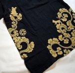 画像8: LIN (リン) 黒猫Lamy &ネズミEarl 唐草かくれんぼ プリント 刺繍 Tシャツ  ATL-75002 (8)