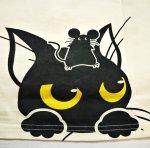 画像5: LIN (リン) [黒猫Lamy &ネズミEarl  ] 長袖Tシャツプリント 刺繍   ALLT-75005 オフホワイト (5)