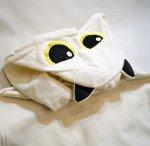 画像7: LIN (リン) [黒猫Lamy &ネズミEarl  ] ラミ&アール ジップパーカー 猫耳パーカー  ALP-75011 オフホワイト (7)