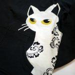 画像7: LIN (リン) [黒猫Lamy &ネズミEarl  ] ラミ&アール ジップパーカー 猫耳パーカー  ALP-75011  ブラック (7)