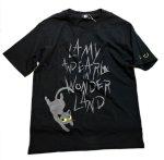 画像6: LIN (リン) 黒猫Lamy &ネズミEarl  黒猫Lamy&ネズミEarl [ WONDER LAND ] プリント 刺繍 Tシャツ  ATL-75017 (6)