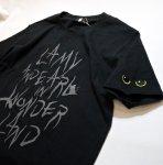 画像9: LIN (リン) 黒猫Lamy &ネズミEarl  黒猫Lamy&ネズミEarl [ WONDER LAND ] プリント 刺繍 Tシャツ  ATL-75017 (9)