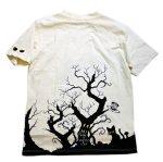 画像3: LIN (リン) 黒猫Lamy &ネズミEarl  黒猫Lamy&ネズミEarl [ WONDER LAND ] プリント 刺繍 Tシャツ  ATL-75017 (3)
