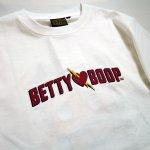 画像4: BETTY BOOP × LOWBLOW KNUCKLE コラボ   Tシャツ 551856  ホワイト (4)