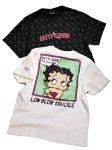画像6: BETTY BOOP × LOWBLOW KNUCKLE コラボ   Tシャツ 551856 モノグラム (6)