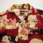 画像3: 衣桜  二越縮緬 アロハシャツ「 松竹梅 」 SA-1382(日本製)  (3)