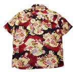 画像2: 衣桜  二越縮緬 アロハシャツ「 松竹梅 」 SA-1382(日本製)  (2)