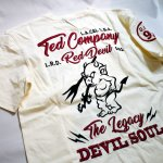 画像5: TEDMAN(テッドマン) 刺繍Tシャツ TDSS-534 (5)