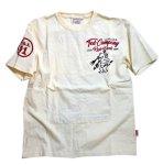 画像2: TEDMAN(テッドマン) 刺繍Tシャツ TDSS-534 (2)
