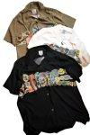 画像6: 再入荷 HOUSTON (ヒューストン)  ALOHA SHIRT (POP)  40680 ブラック (6)