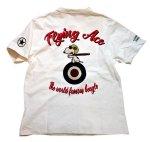 画像8: PEANUTS SNOOPY × LOWBLOW KNUCKLE コラボ [ ACE ] 刺繍 プリント Tシャツ  551406 (8)