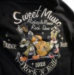 画像3: LOWBLOW KNUCKLE  × Mickey Mouse コラボ[Rock'n'roll Mouse] プリント 刺繍 パーカー (3)
