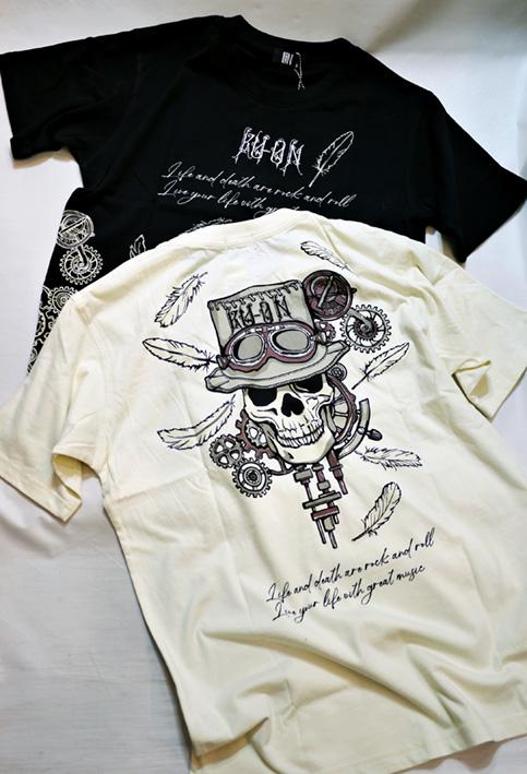 画像1: LIN (リン) 久遠スチームパンク Tシャツ AL-759003 (1)